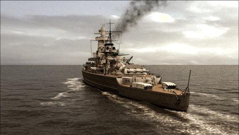 Hitlers verlorenes Schlachtschiff - die Admiral Graf Spee