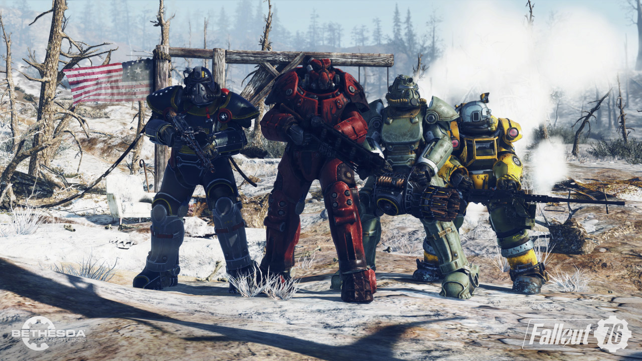 Screenshots aus Fallout 76