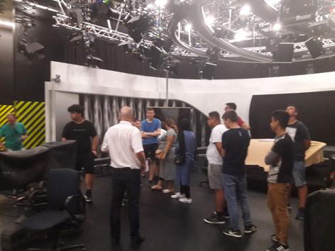 Jugendliche im ORF
