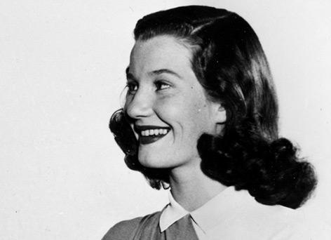 Lois Maxwell in jungen Jahren
