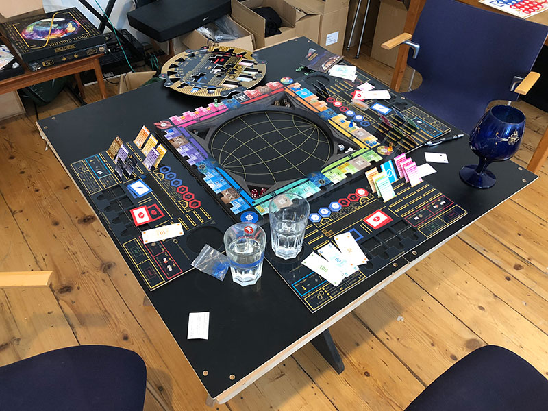 Das Brettspiel World Control