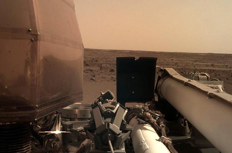 """Nach der Landung von """"Insight"""" auf dem Mars"""