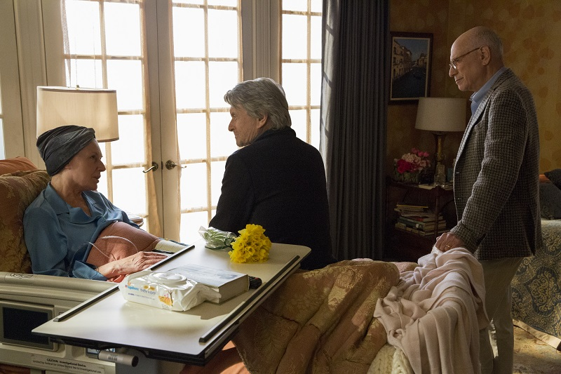 "Susan Sullivan, Michael Douglas und Alan Arkin in ""The Kominsky Method"""