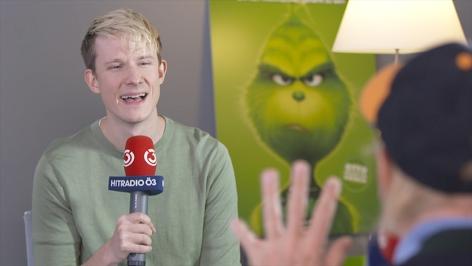 Ö3-Reporter Max Bauer spricht mit Otto