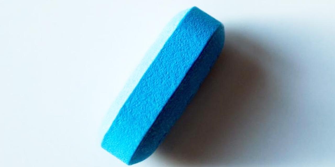 Blaue Tablette