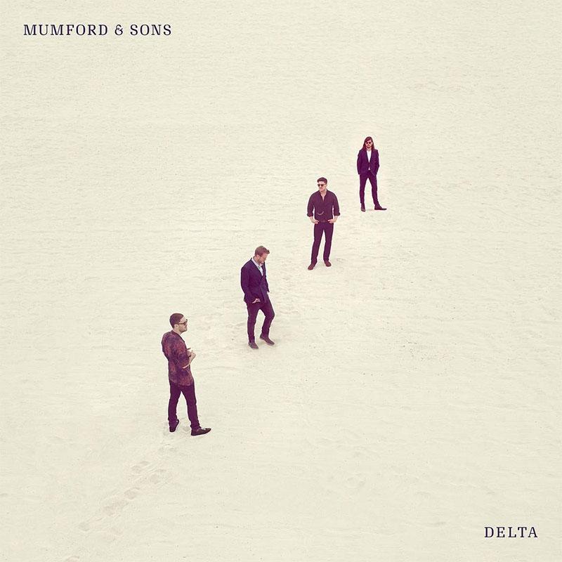 """Albumcover von Mumford & Sons' """"Delta"""""""