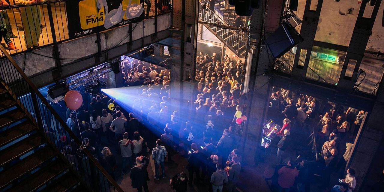Bühne beim FM4 Geburtstagsfest