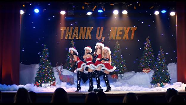 "Ariana Grande im Video zu ""thank u, next"""