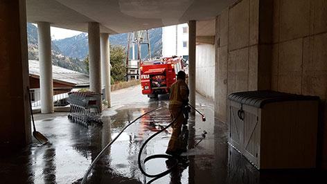 Feuerwehr Wenns im Einsatz