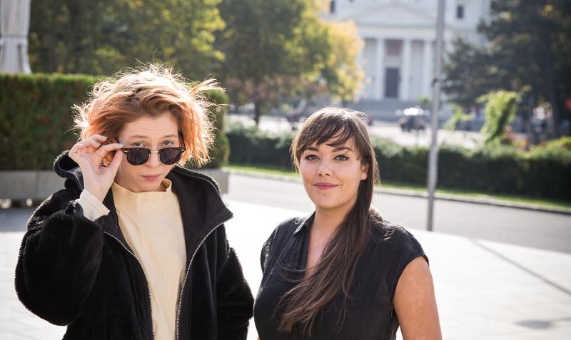 Mira Lu Kovacs und Yasmin Hafedh
