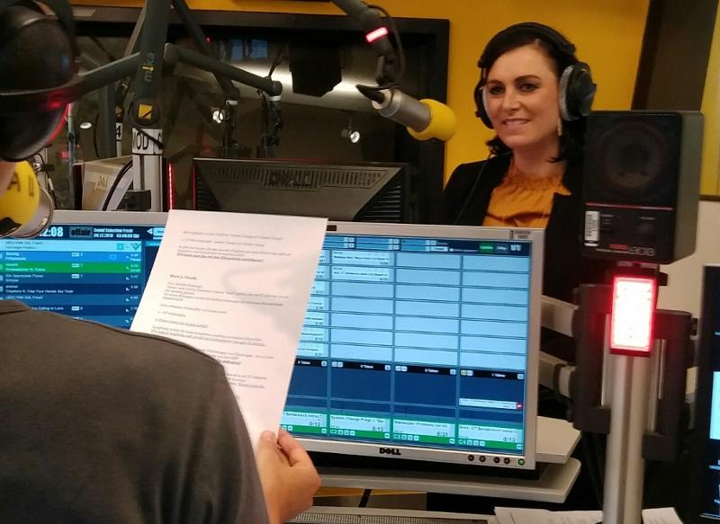 Elisabeth Köstinger im Studio