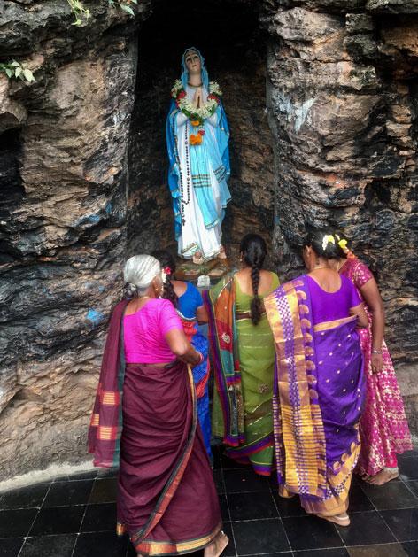 St. Mary's Gunadala Matha Shrine Marienpilgerstätte Indien