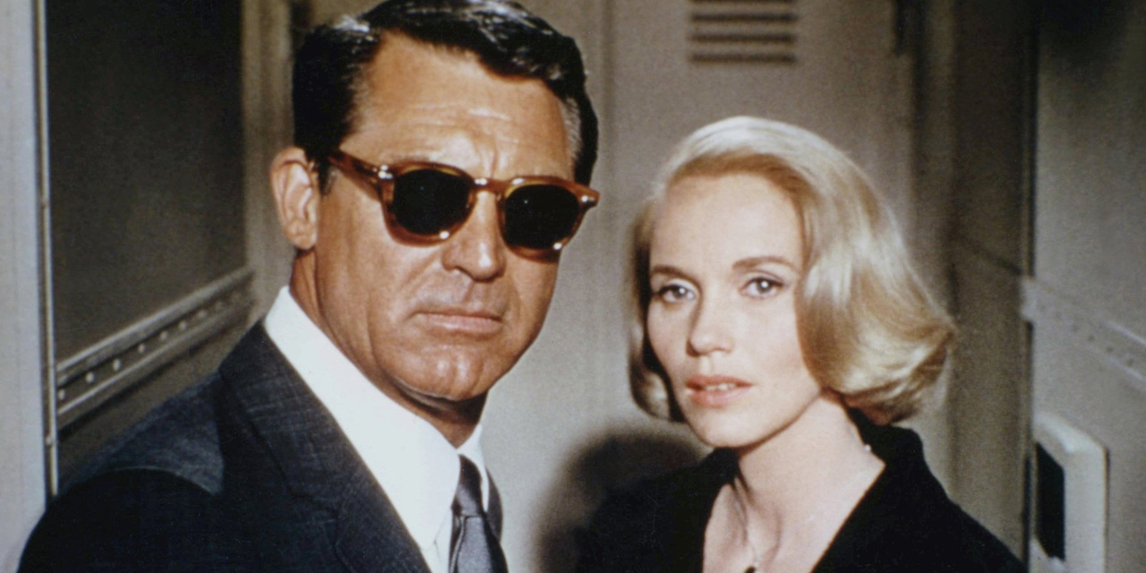 "Cary Grant und Eve Marie Saint in ""North by Northwest"""