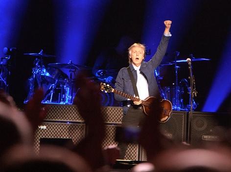Paul McCartney live in Wien