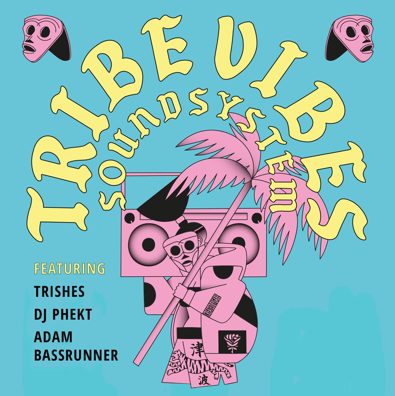 Plakat zur FM4 Tribe Vibes Tour