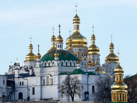 Das 1.000 Jahre alte Höhlenkloster  in Kiew