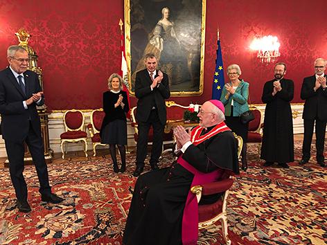 Verabschiedung von Nuntius Peter Stephan Zurbriggen