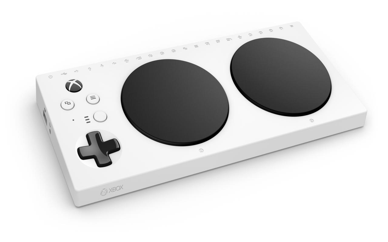 Der Adaptive-Controller für die Xbox.
