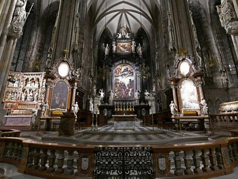 Stephansdom Innenraum