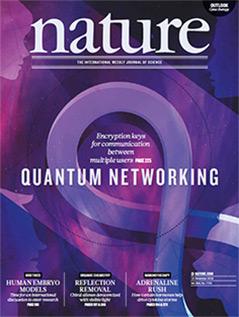 """Cover der Zeitschrift """"Nature"""", 12.12.2018"""