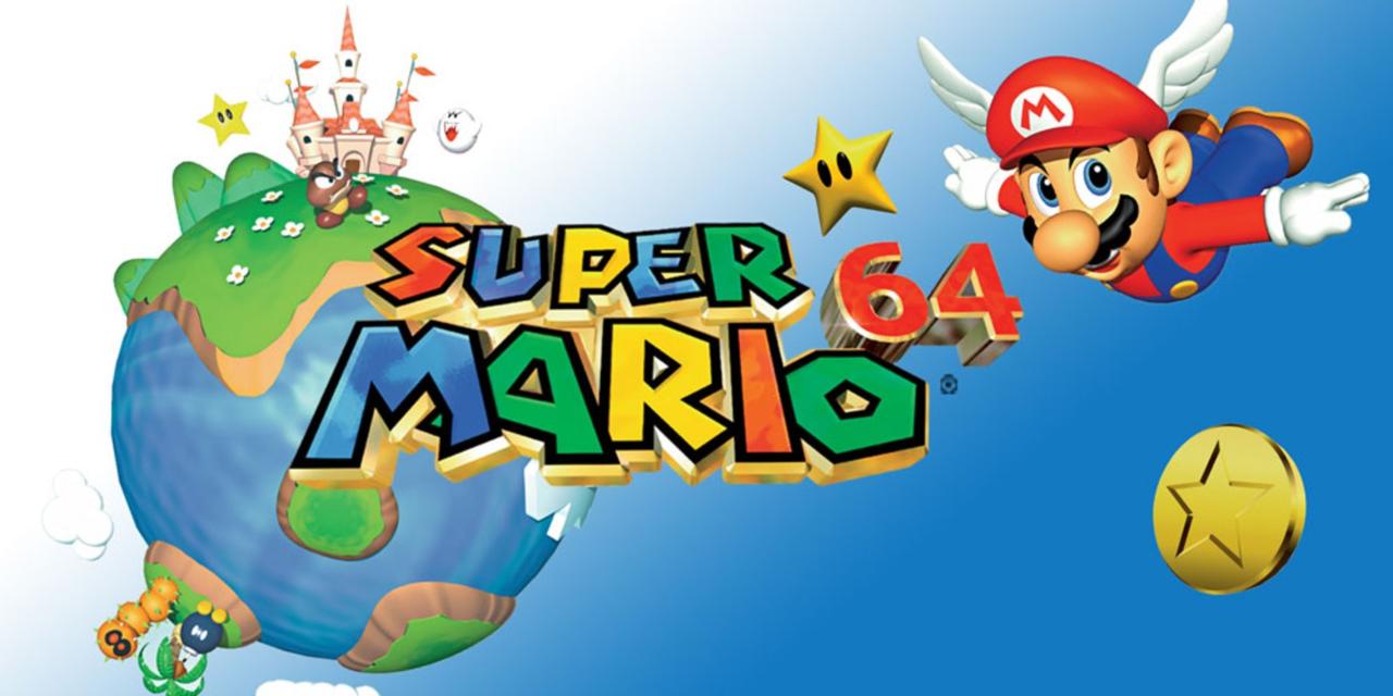 Coverart des Spiels Super Mario 64