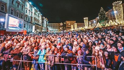 Publikum beim Ö3-Weihnachtswunder