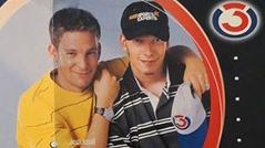 Robert und Andi vor 25 Jahren (altesFoto)