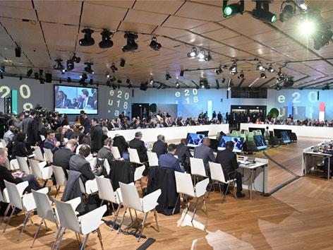 Afrika Forum Wien 2018 Sitzungssaal