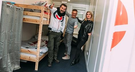 Robert Kratky, Gabi Hiller und And Knoll