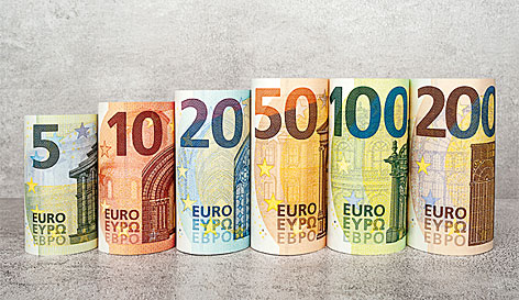 Die Europa-Serie der Euro-Banknoten