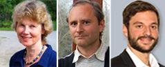 Anneliese Haika, Thomas Posch und Stefan Wallner