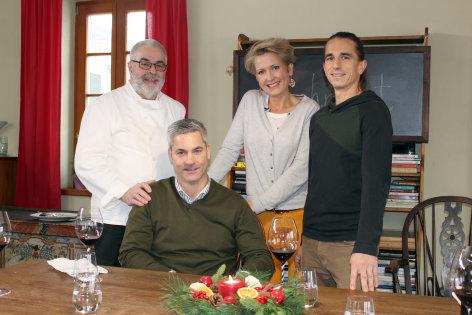 Mein wunderbarer Kochsalon  Hirschragout mit Kräuternockerl