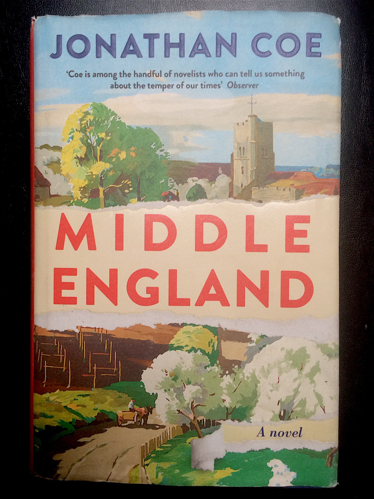 Middle England, Buchcover