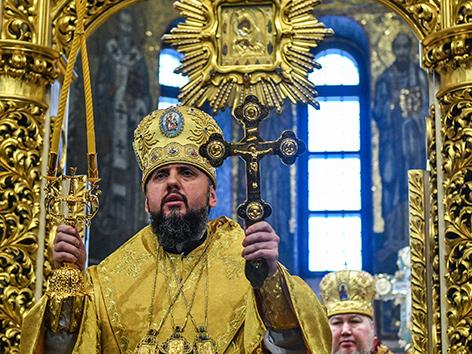 """Neu gewählte Metropolit von """"Kiew und der ganzen Ukraine"""" Metropolit Epifanij (Dumenko)"""