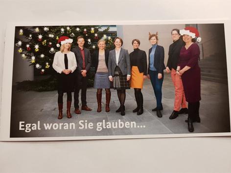 Karte der CDU-Politikerin Annette Widmann-Mauz