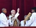 """Papst Franziskus spendet den Weihnachtssegen """"Urbi et orbi"""" am 25. Dezember 2017"""