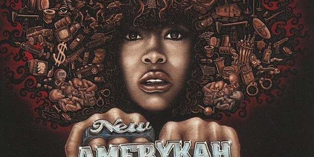 "Cover Erykah Badu ""New Amerycah"""