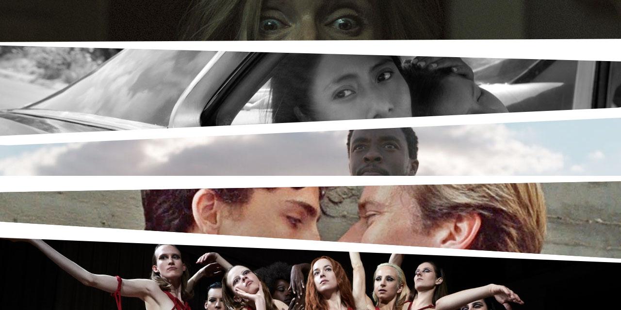 Auschnitte aus den Filmstills zu Filmen, die auf der Besteliste stehen