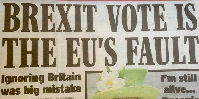 Express am 29.6.2016 - alles die Schuld der EU