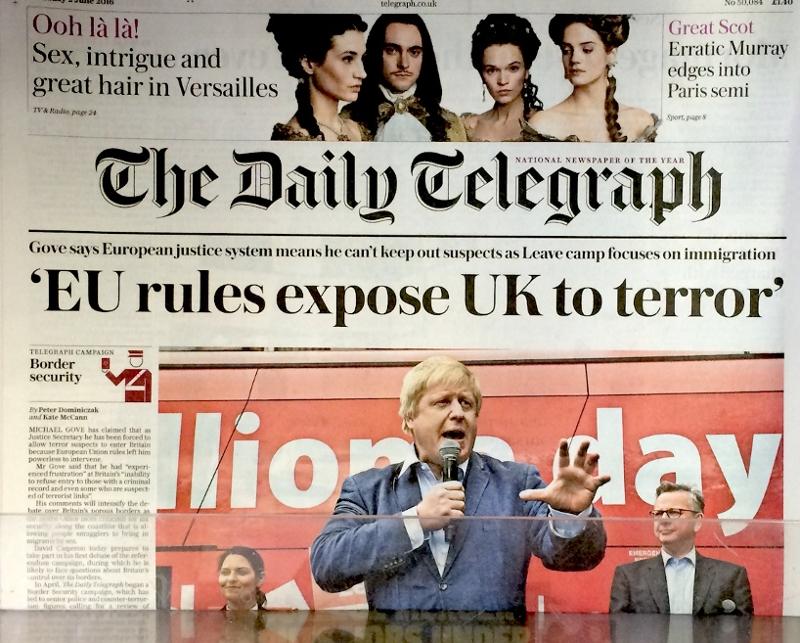 Telegraph am 2. Juni 16