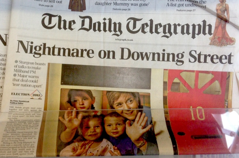 Daily Telegraph droht mit Verfassungs-Chaos