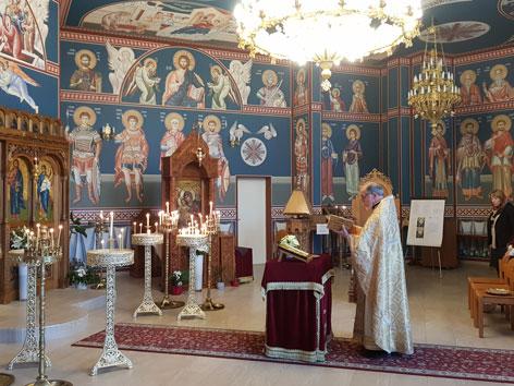 Bulgarisch-orthodoxe Kirche Hl. Iwan Rilski Wien Petkin