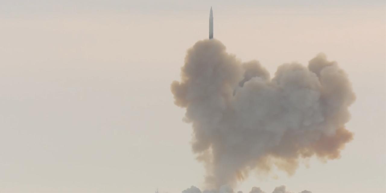 Rakete hebt ab