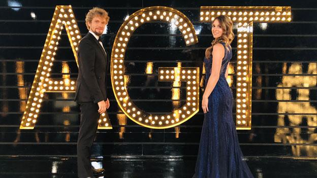 "Thommy Ten und Amélie van Tass - ""America's Got Talent – The Champions"""