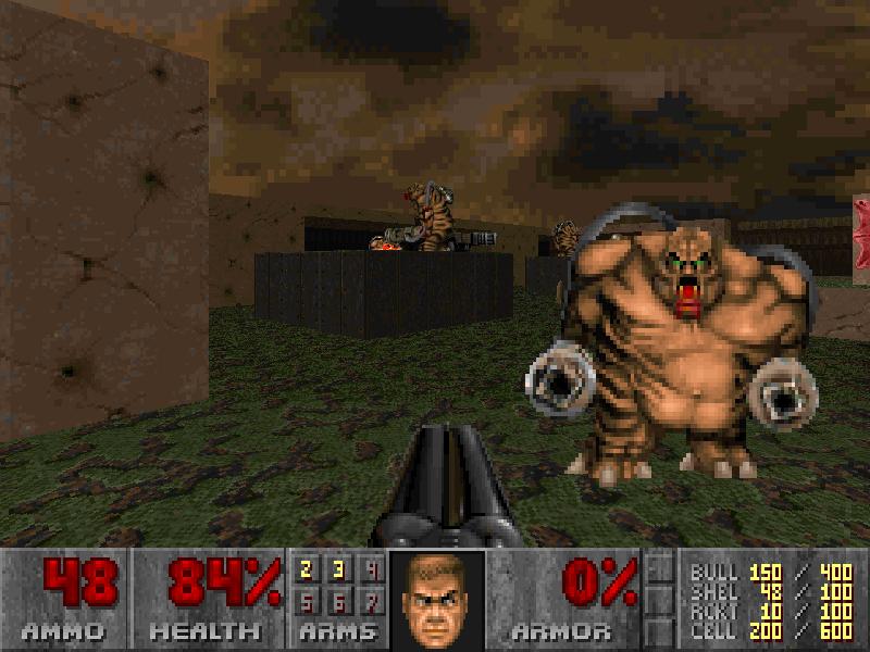 "Screenshot aus ""Doom"""