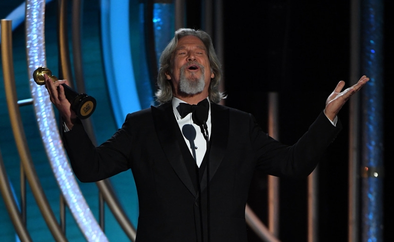 Jeff Bridges bei den Golden Globes