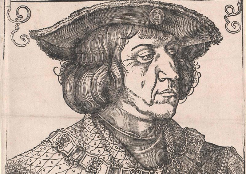 Holzschnitt Maximilians von Albrecht Dürer von 1519