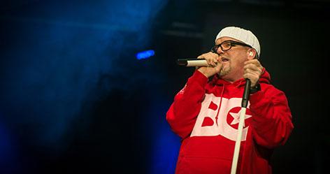 DJ Ötzi auf der Bühne
