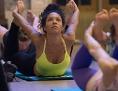 Eine Yogaklasse