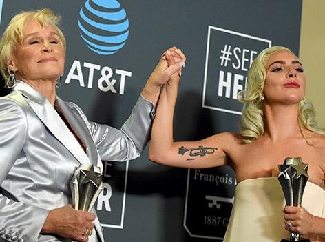 Lady Gaga mit Glenn Close